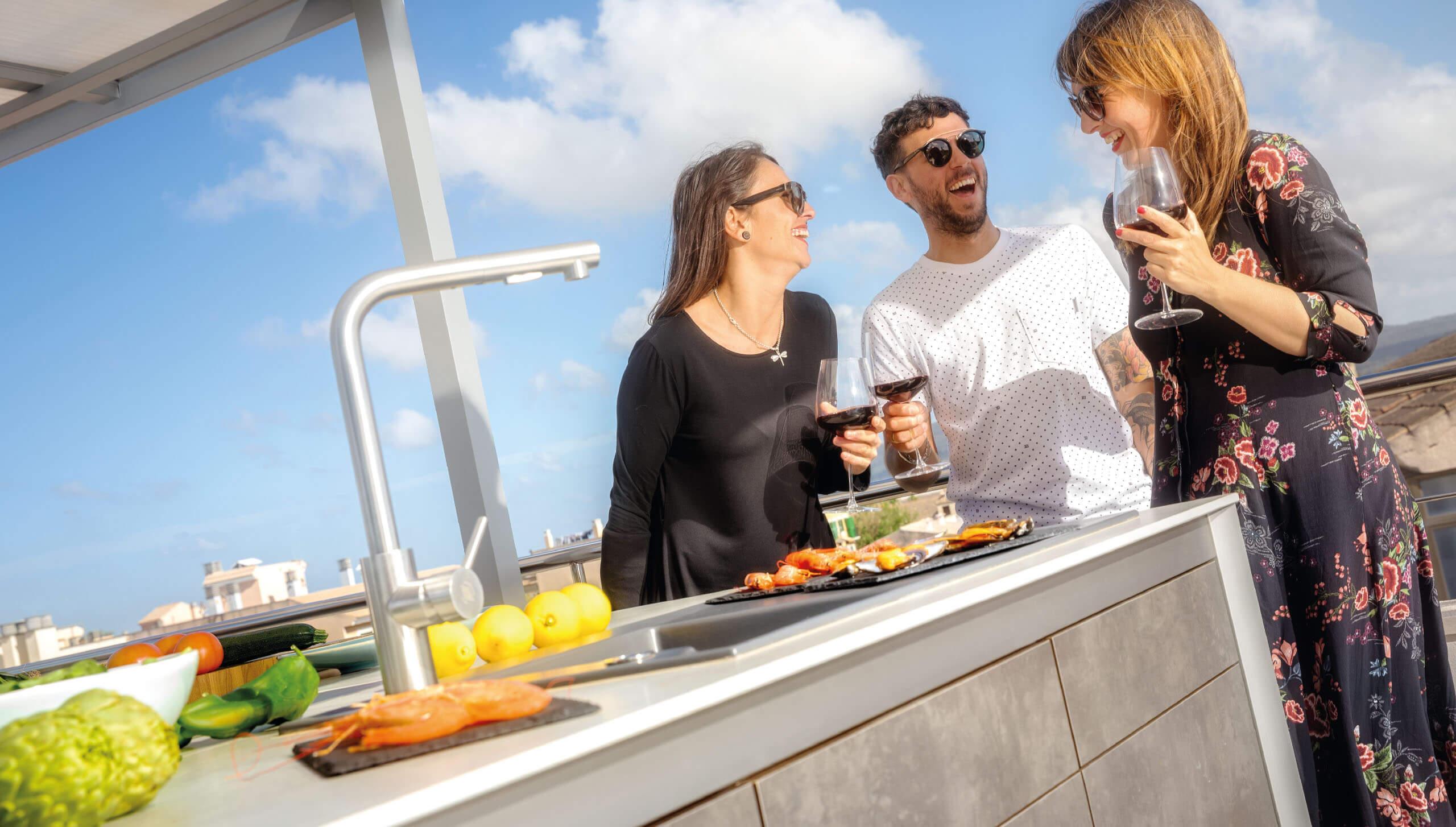 Wesco Outdoor Küchen : Home wesco outdoorküchen