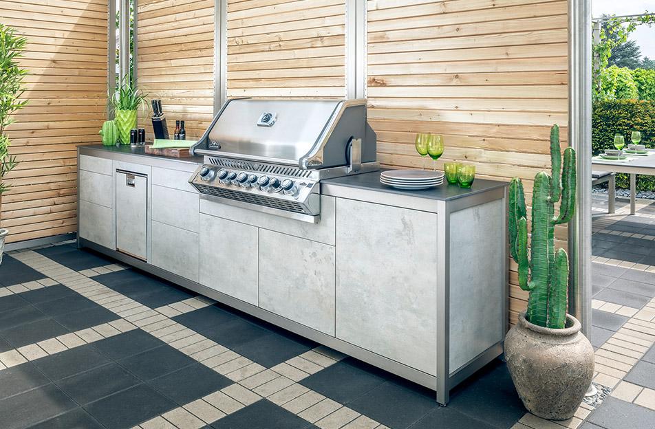 Outdoorküche Möbel Bewertung : Outdoorküche die perfekten outdoor küchen für ihren garten